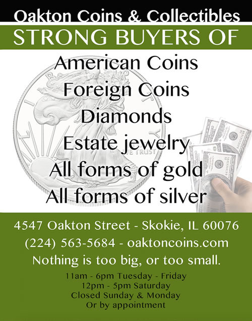 Sell Gold & Coins Chicago – (312) 989-8067 | Where to sell